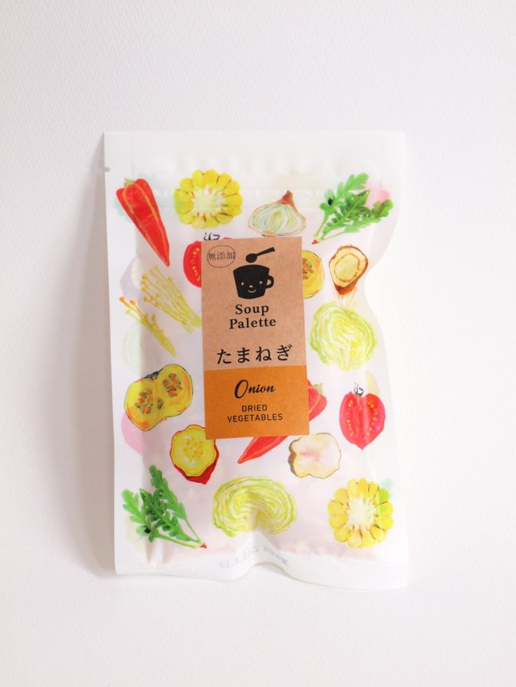 簡単にスープが作れる「スープパレット (Soup Palette)」 #design #illustration #package #japan #kawaii #cute #デザイン #イラスト #パッケージ #かわいい #kawacolle