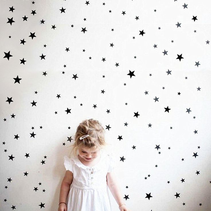 150pcs mixed size easy apply removable starry stars wall stickers,KIDS room environmental friendly decor decal free ship,M2S1-in Wall Stickers from Home & Garden on Aliexpress.com   Alibaba Group