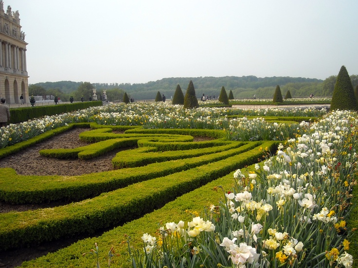 Gardens at the Versailles Palace