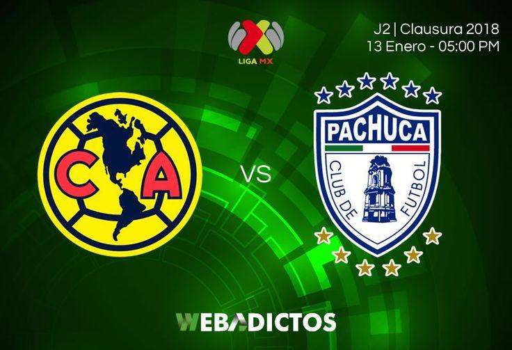 América vs Pachuca, Jornada 2 Clausura 2018 ¡En vivo por internet! - https://webadictos.com/2018/01/13/america-vs-pachuca-j2-clausura-2018/
