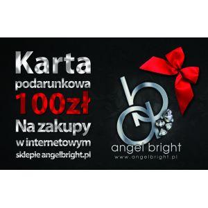 Karta Podarunkowa- Bon na Zakup Biżuterii w sklepie Angel Bright               *  Pomysł na Prezent  *