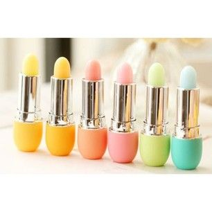 Eos eggs in lipstick form!!! Gotta have it!