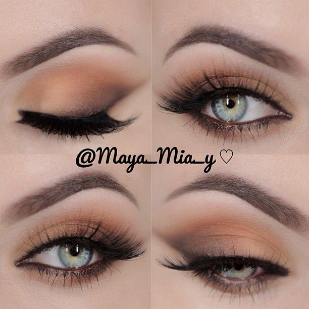 All Matte Everything   Using the Coastal Scents 252 Ultimate Palette  Lashes ...