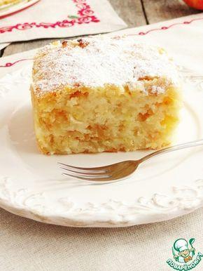 Сочный яблочно-манный пирог. Обсуждение на LiveInternet - Российский Сервис Онлайн-Дневников