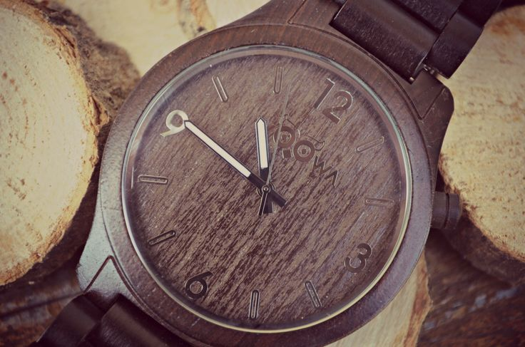 Ebony Wooden watch