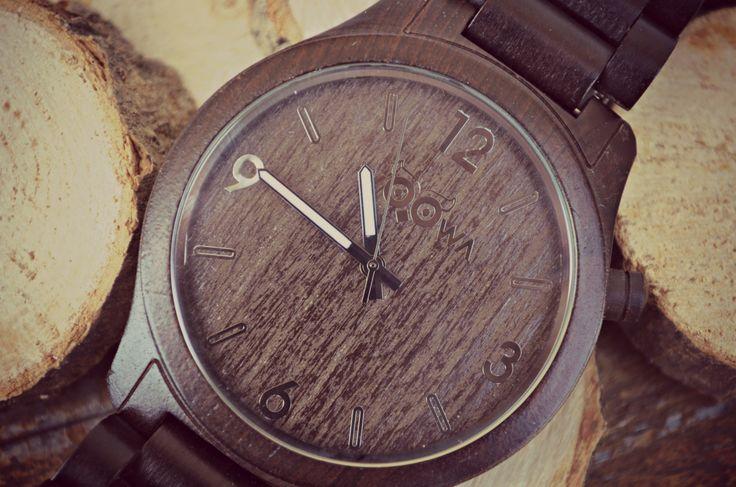 Ebony Wooden watch