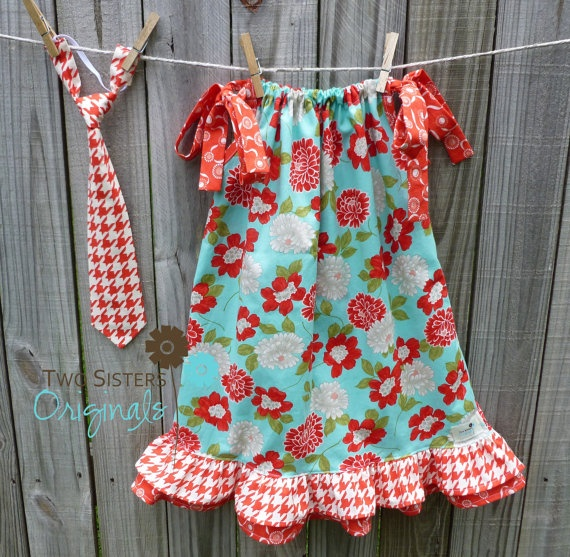 Matching Brother and Sisters Outfits  by twosistersoriginals, $41.00