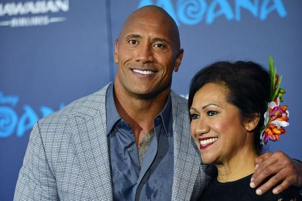 Dwayne Johnson shared on Instagram Thursday how he celebrated his mother's 69th birthday alongside his baby daughter Jasmine.