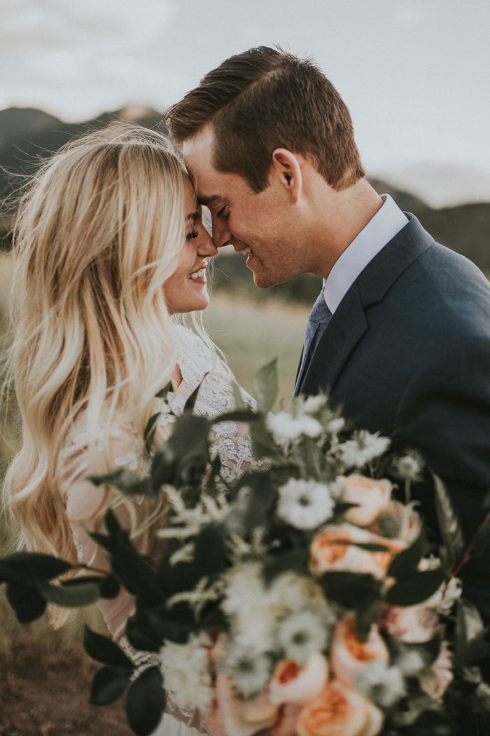 These cuties did their first look a day before their wedding so they could be fully presesnt & stress-free on thier big day | Image by Autumn Nicole Photography