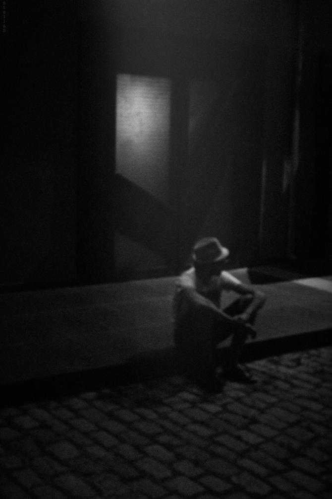 Stella sidiropoulou late night jazz · contemporary photographersblack white