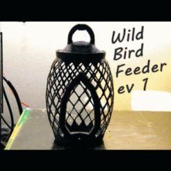 Mangeoire d'oiseaux sauvages ev1