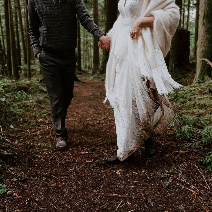 "Wild Elopements & Weddings With Soul  Photographer ↟ Laura Olson (@lauraolsonphotography) on Instagram: ""Wild Elopements 🌲// running through the forest, hand in hand, grinning ear to ear, not worrying…"""