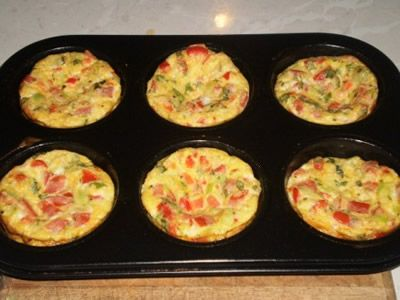 Egg muffins are like mini frittatas, omelettes, crustless quiches