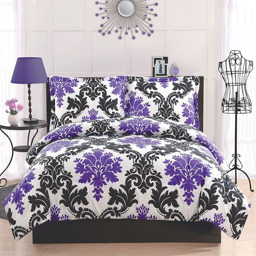 Purple Teen Bedding 14