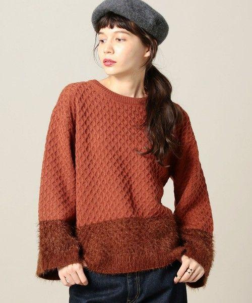 日本未上陸ブランド♪Cable knit sweater ニット