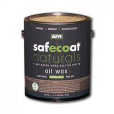 AFM Safecoat Naturals Oil Wax Finish is an organic plant-based premium hardener and sealer for unfinished woods. It is an ideal choice for all ready to finish wood and bamboo floors and other interior wooden surfaces including furniture.  #furniture #wood #lumber #homeimprovement #refinish #ecofriendly #nontoxic #afm #greenbuilding