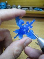 Wax carving tutorial by flintlockprivateer, who photographed and explains his process from start to finish.
