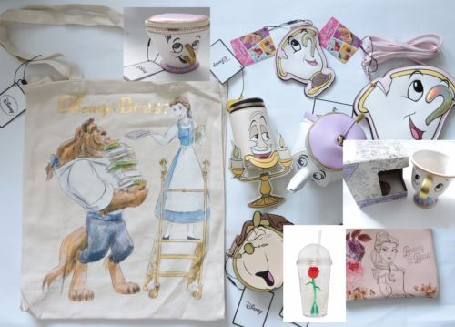 Disney-Beauty-And-The-Beast-Chip-Teapot-Clock-Primark-Purse-Bag-Cup-10-Items