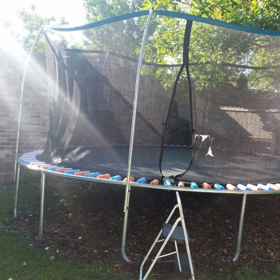 25 Best Ideas About Trampoline Spring Cover On Pinterest