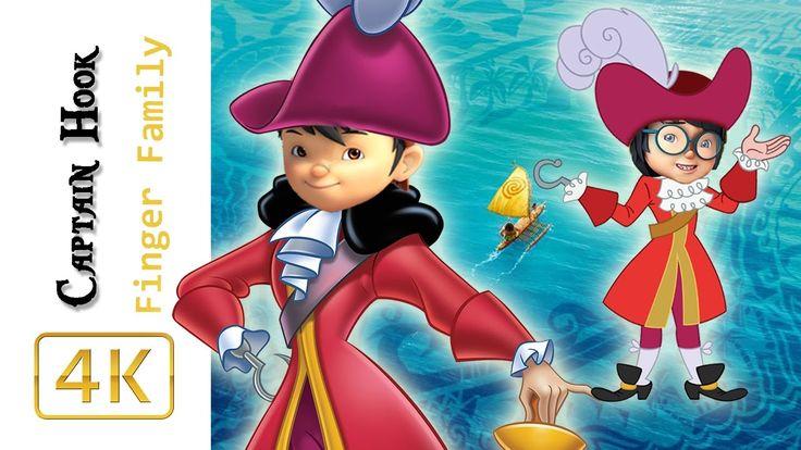 BoBoiBoy Galaxy Transforms Into Captain Hook Finger Family Song Pirates ...