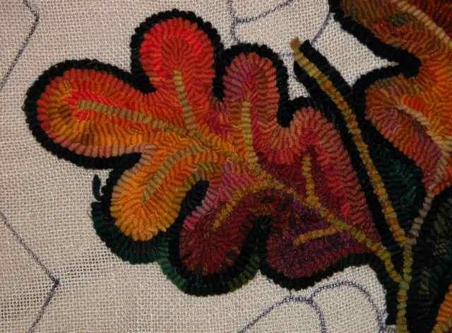 """Wool using Gene Shepherd's """"Ordered Pancake Dye"""" process"""