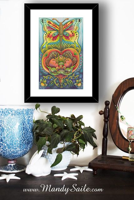 Mandy Saile - Creating Joyfully Whimsical Coloured Pencil Art Whiles Living With Happy House Rabbits: Holiday Shopping