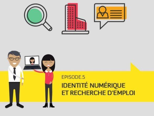 #Organisation #Work Enquête RegionJob : Identité numérique et recherche d'un #emploi.