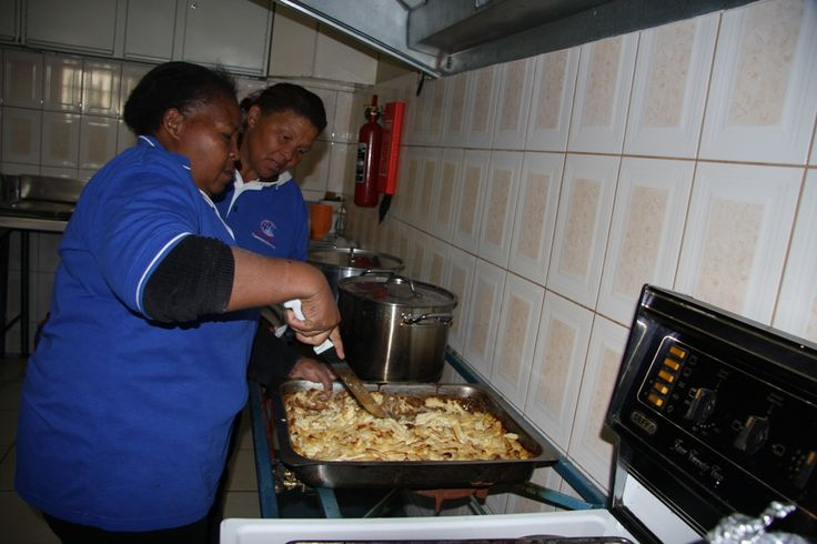 The chefs at Meals on Wheels hard at work http://www.tekkietax.co.za/