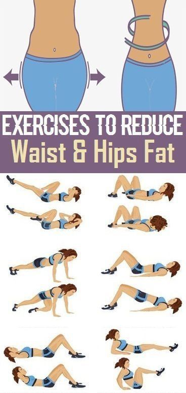 Waist and Hips Fat Exercises | Posted By: CustomWeightLossProgram.com