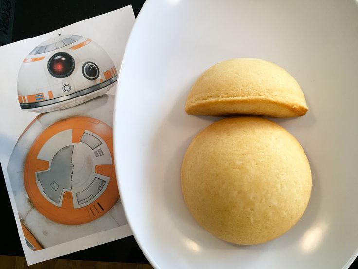 How to Make an Easy Star Wars BB-8 Birthday Cake for a Star Wars birthday party