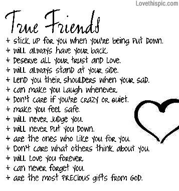 true friends life quotes quotes friendship quote life quote ...