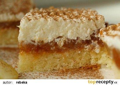 Kokosový jablečník recept - TopRecepty.cz