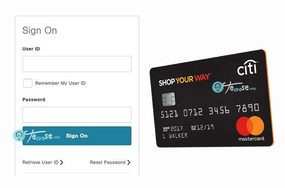 Shop Your Way Mastercard login - Manage Your Citibank Shop Way