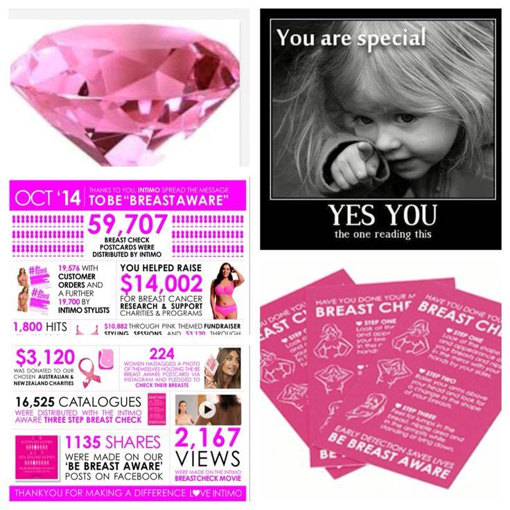 Breast aware #supportingeachother #intimo&beautifulwomen