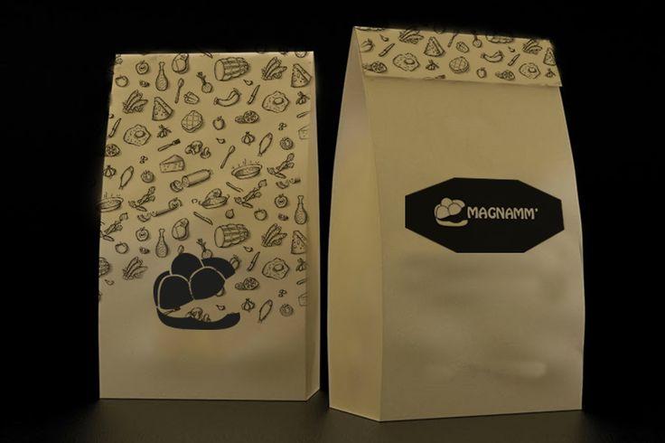Magnamm' - Fast Food Branding