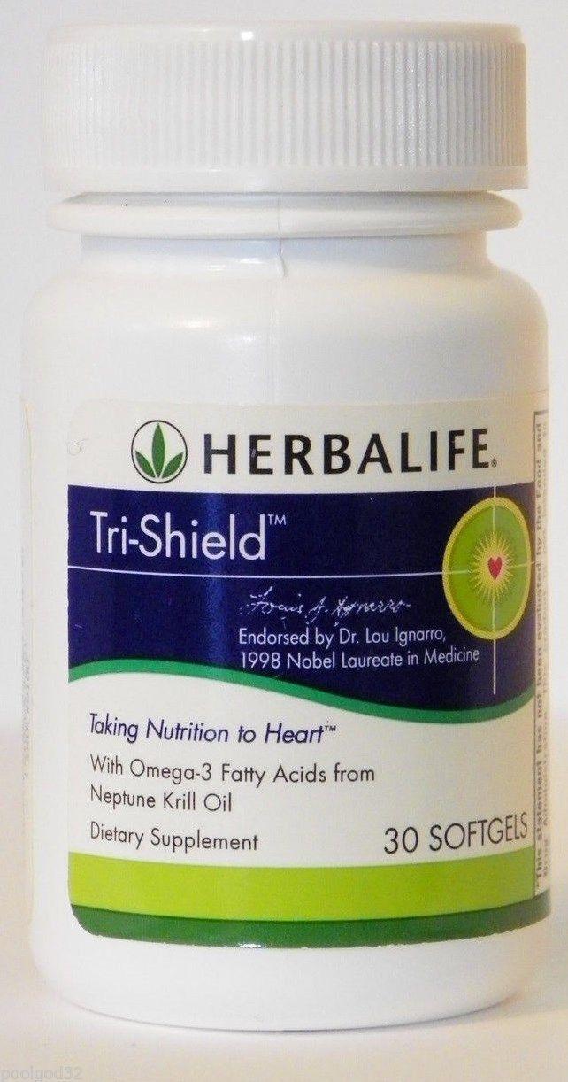 Lot of 10 Herbalife Tri-Shield Neptune Krill Oil Omega-3 EPA DHA Heart health