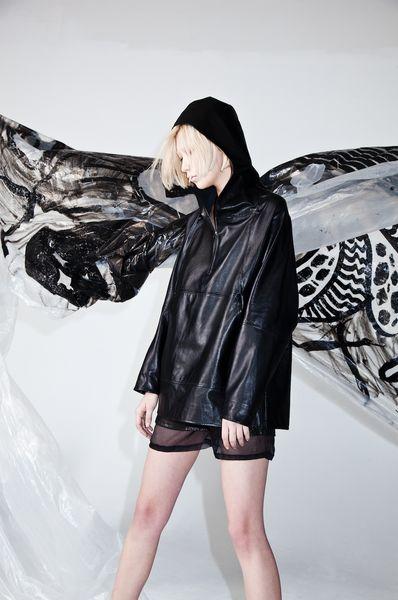 Arches Parka Black Leather