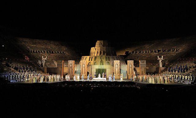 Arena di Verona - Nabucco 2013