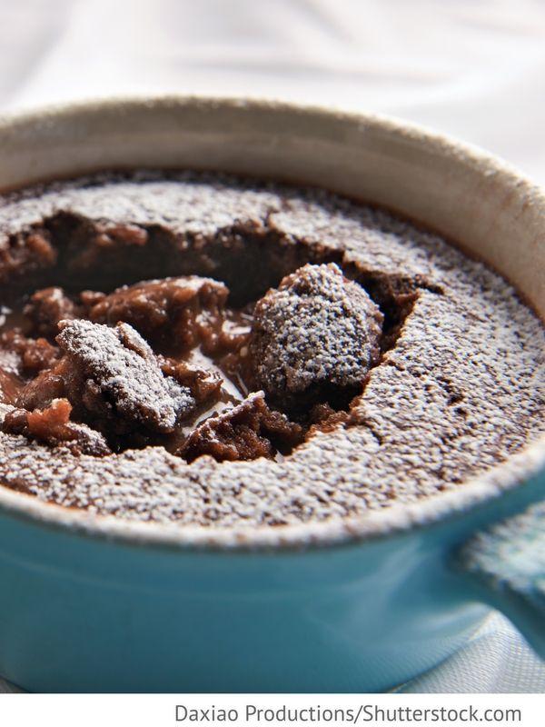 Schokoladen  Schokoladen Pudding Schokoladnyj puding - Шоколадный пудинг - Russische Rezepte