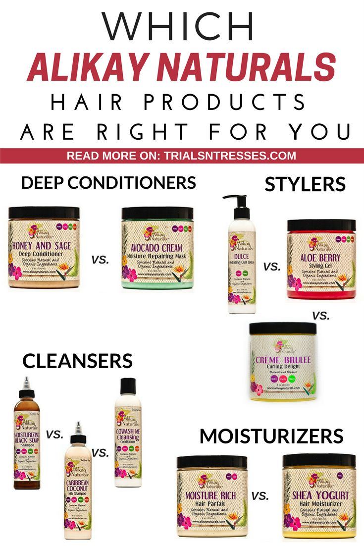 Which Alikay Naturals Hair Products Are Right For You
