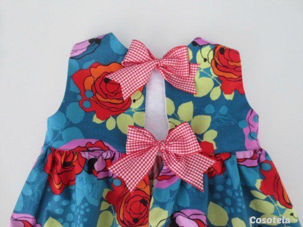 cosotela  TUTORIAL PERFECTO PARA HACER VESTIDO INFANTIL