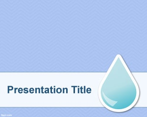 31 best blue powerpoint templates images on pinterest ppt template free natural resource background template design for powerpoint with a water drop over a clean blue background toneelgroepblik Image collections