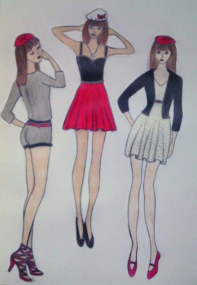#girls#fashion#France#longlegs#drawing