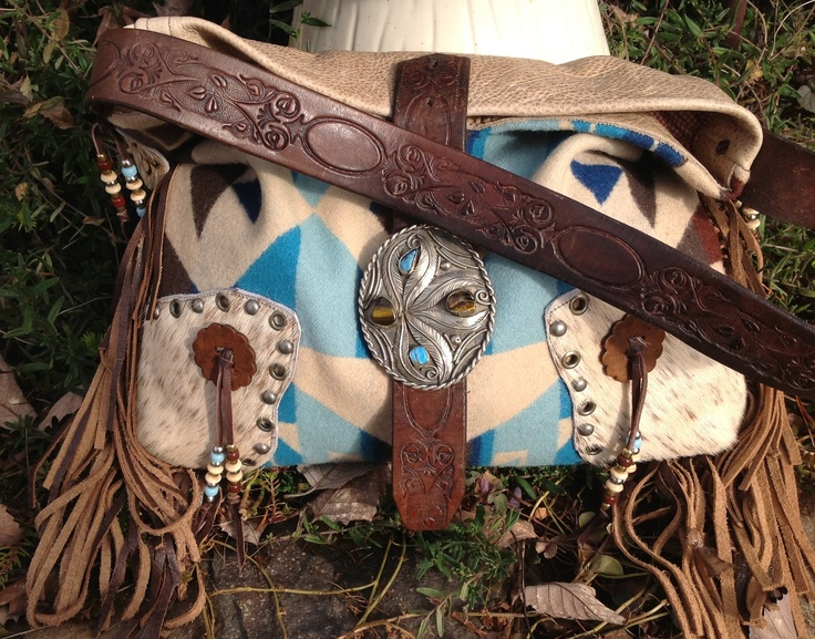Gorgeous Concealed Carry Western Handbag by Double J Originals *SOLD*