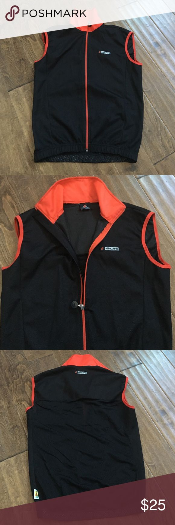 Men's cycling vest M Men's cycling vest. Size M Hincapie made in Italy. Excellent condition 👌🏻 Shirts Tees - Short Sleeve