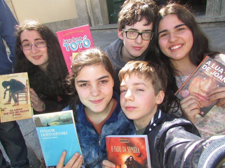 Adelaide Jordão, Biblioteca da Escola Secundária Camilo Castelo Branco de Vila Real. Aluno João Costa