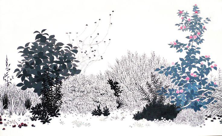 「植え込み 2」2007 : 須藤由希子|Yukiko Suto