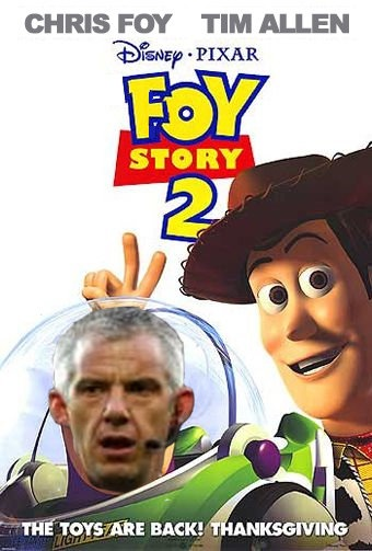 Foy Story 2, starring Chris Foy