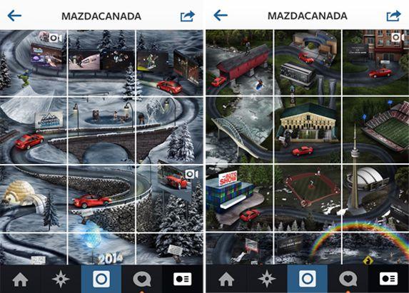 Storytelling e caccia al tesoro per Mazda Canada
