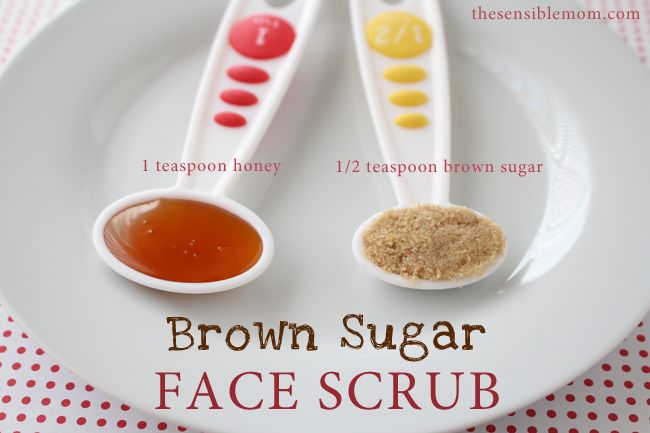 Brown sugar face scrub: Just did this and it helped sooo much with the dead skin on my face.